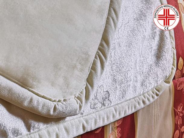 COPERTA DOMO-ANTARESsupporto terapeutico biofir soft wood e lana superwash