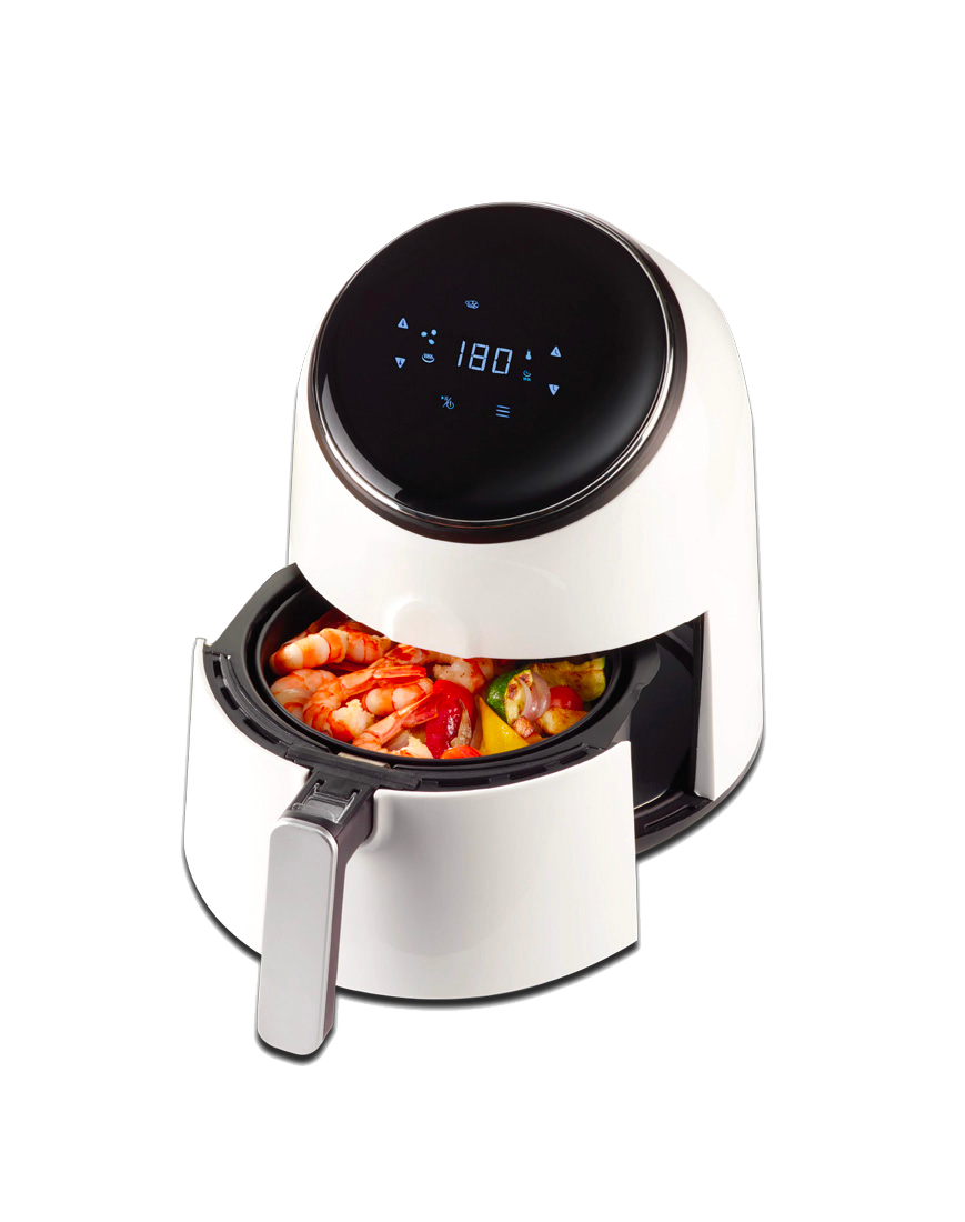 friggitrice ad aria calda per alimenti