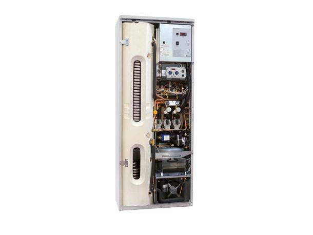 impianto ibrido caldaia a condensazione pompa di calore